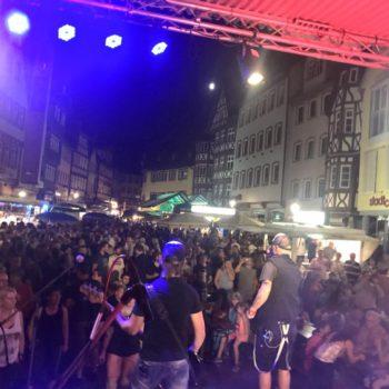 Crossfire liveband Altstadtfest Wertheim