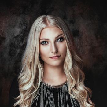 Anna-Lena Sängerin der Band Crossfire